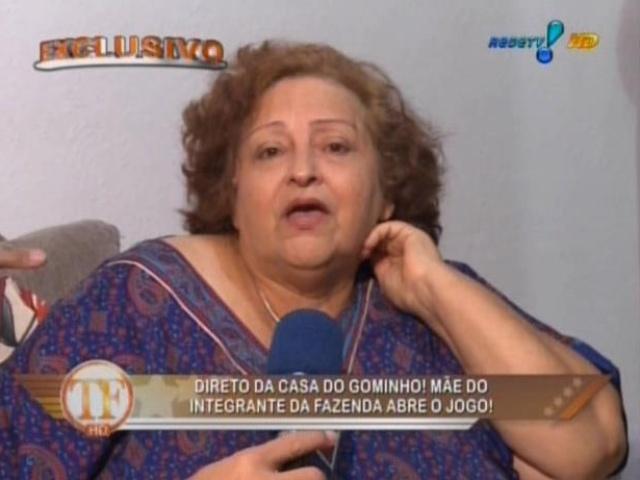 31.jul.2013 - Mãe de Gominho detona Paulo Nunes e chama ex-jogador de preconceituoso