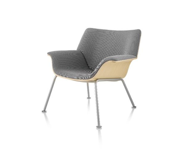 A poltrona Swoop Lounge Furniture, da Herman Miller (www.issoehermanmiller.com.br), é uma peça do designer Brian Kane e pode ser comprada a partir de R$ 6.888 I Preços pesquisados em julho de 2013 e sujeitos a alterações