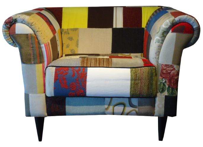 A releitura da poltrona Chesterfield, estofada em patchwork, pode ser comprada na Edno Interiores (www.ednointeriores.com.br) por R$ 2.177 I Preços pesquisados em julho de 2013 e sujeitos a alterações
