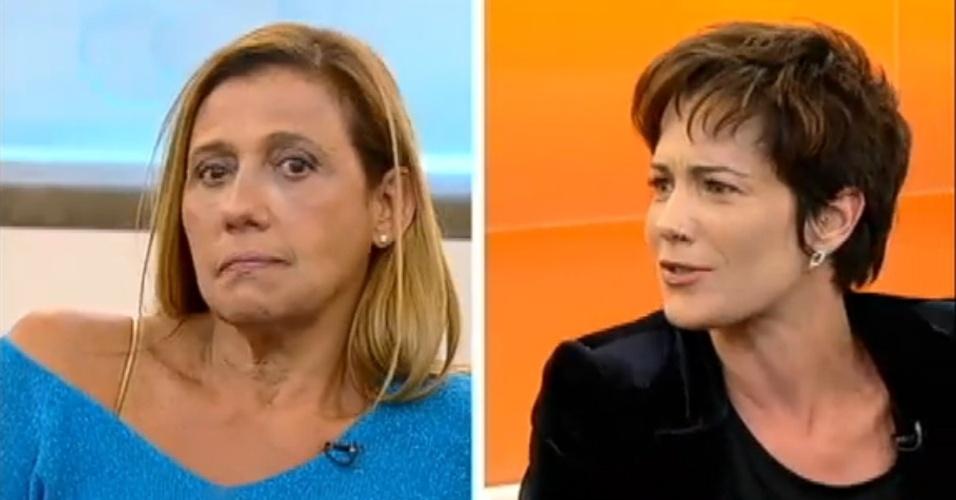 Rita Cadillac e Lu Schievano relembram brigas na
