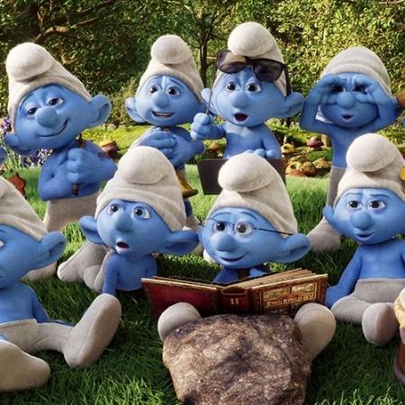 Os Smurfs, que já ganharam dois filmes - Divulgação