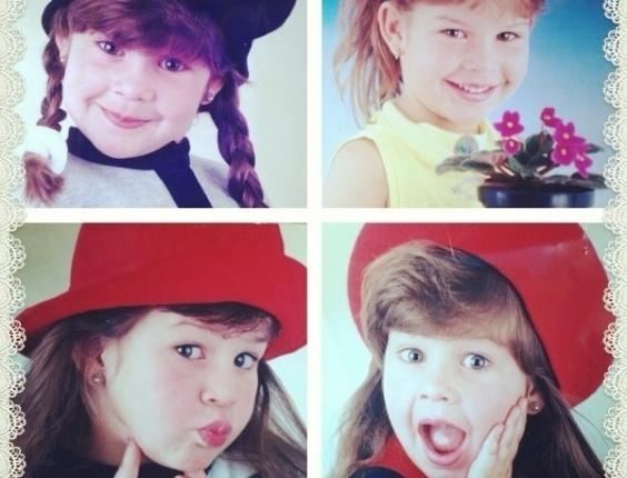 go.2013- Fernanda Souza relembra a infância em fotos publicadas no Instagram