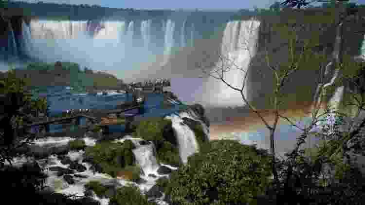 Catataras do Iguaçu - Eduardo Vessoni/UOL