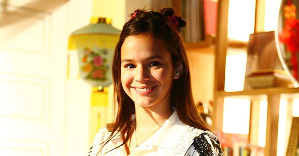 """Em """"Negócio da China"""", Bruna interpretou Flor de Lys. A novela foi exibida em 2008 na Globo"""