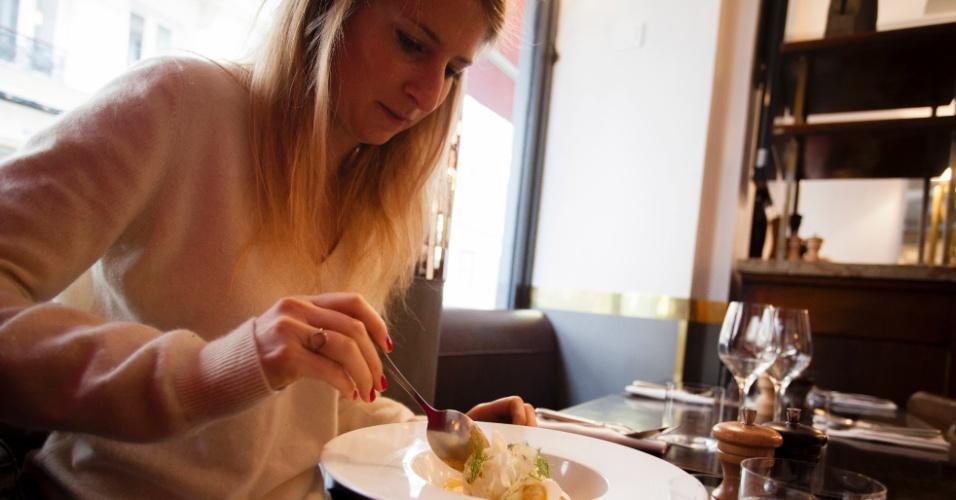 No almoço, o Le Pantruche é superbarato: 18 euros pelo prato do dia e mais uma entrada ou sobremesa; já no jantar, são 34 euros por praticamente qualquer combinação de três pratos do cardápio (alguns vêm com suplementos)