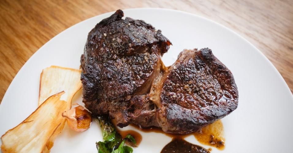 O Pulpería é o que se pode chamar de um restaurante franco-argentino, com (grande) destaque para as carnes