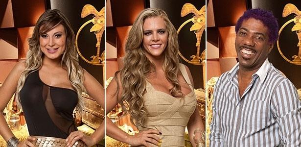 3.ago.2013 - Andressa Urach, Denise Rocha e Ivo Meirelles são indicados à roça