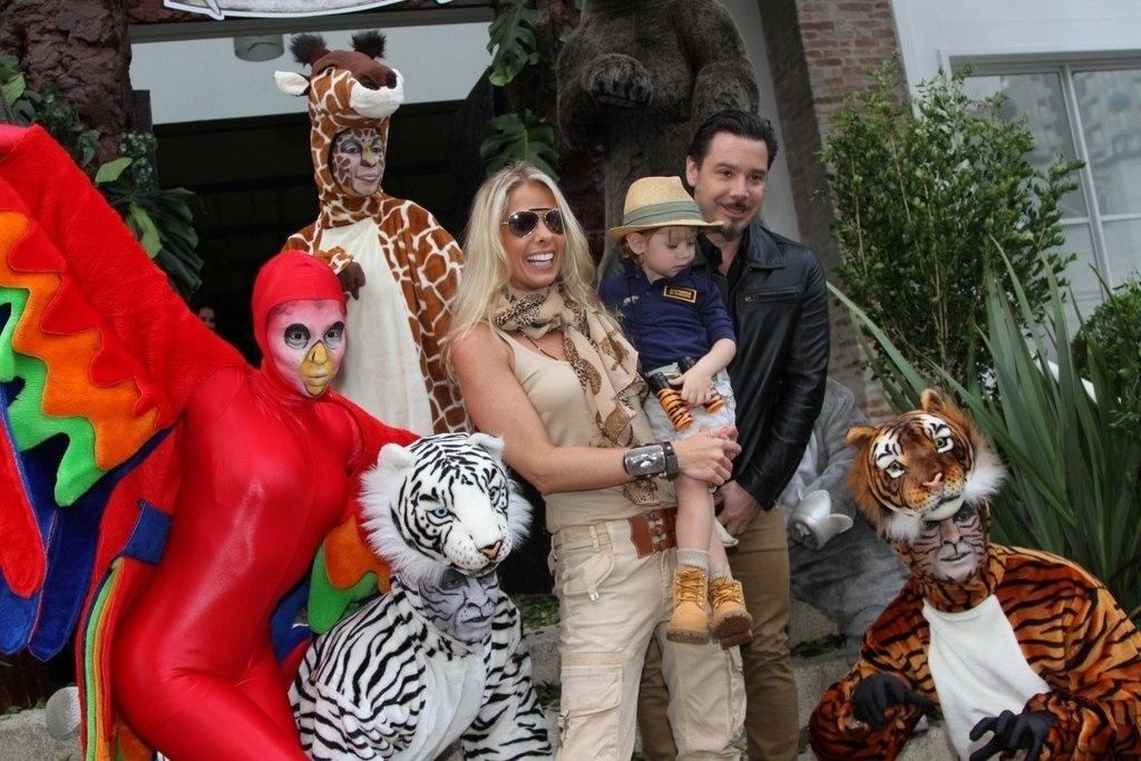 5.ago.2013 - A festa de 3 anos de Vittorio terá o tema Safari e foi decorado por Andréa Guimarães