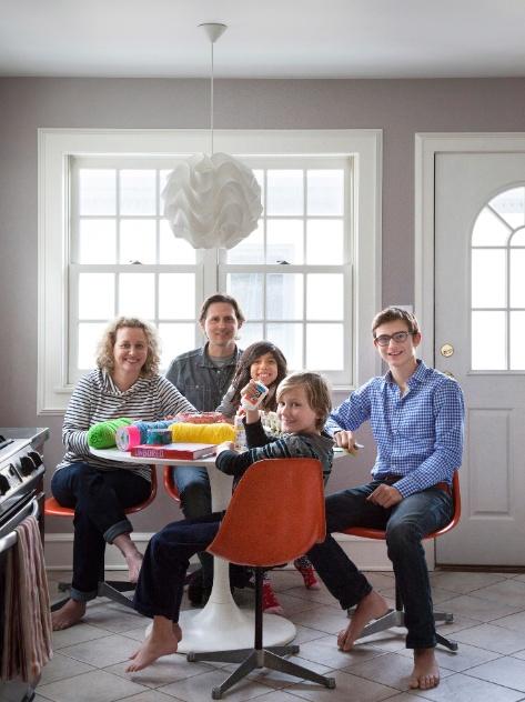 Crianças palpitam na (bela) decoração da casa dos pais; veja o