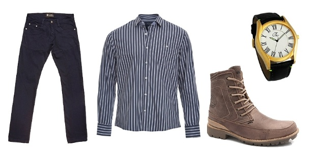 Para presentear o pai com roupa é necessário desvendar qual o estilo dele: formal, casual ou esportivo - Divulgação