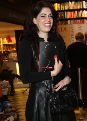 """A empresária Paula Lavigneno no lançamento do livro """"A História de Mora: a saga de Ulysses Guimarães"""" - RAPHAEL MESQUITA / FOTO RIO NEWS"""