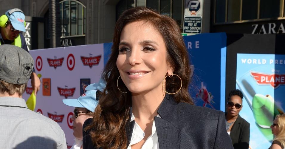 5.ago.2013 - Ivete Sangalo dubla a voz da personagem Carolina Santos Duavião, criado especialmente para os cinemas brasileiros e latinos