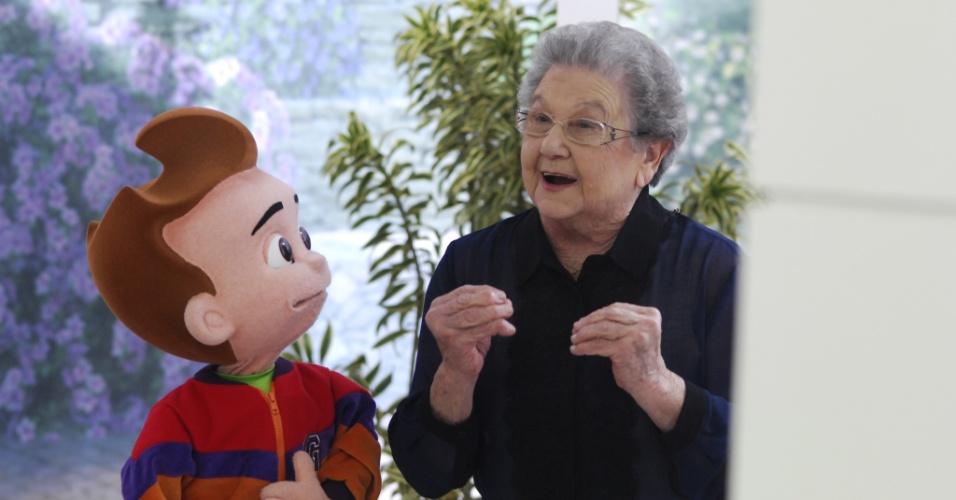 7.ago.2013 - Palimirinha e Guinho apresentam a segunda temporada de seu programa no canal Bem Simples