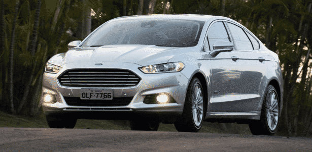 Ford Fusion Hybrid 2014 - Murilo Góes/UOL - Murilo Góes/UOL