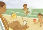 Só o verão é digno com as mães - Paola Saliby/UOL