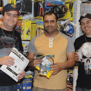 MercadoCar: Allan Luis Tesori , Anderson Rocha Duarte e Leandro Manoel Domingos - Murilo Góes/UOL