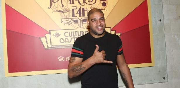 Adriano negocia futuro como jogador e empresário com o Miami United, dos EUA - Raphael Mesquita/Foto Rio News
