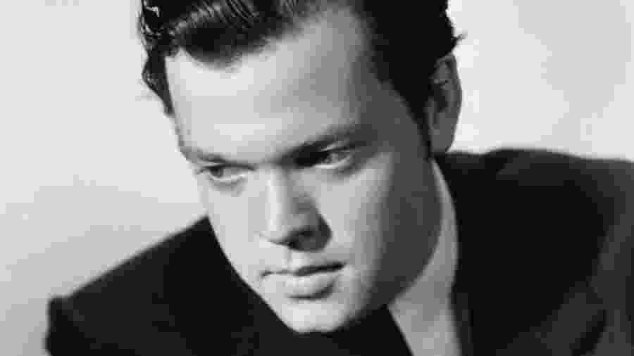 O diretor Orson Welles - Reprodução