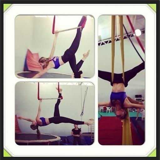 08.ago.2013 - Grazi Massafera postou foto em que aparece fazendo aulas de circo e mostrou que tem bastante elasticidade