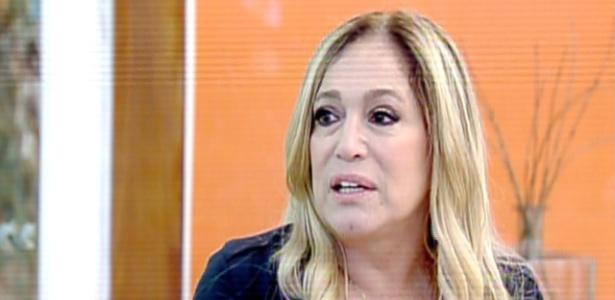 """8.ago.2013 - Susana Vieira é entrevistada no """"Mais Você"""""""