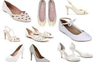 e0158a3b1 Para todos os gostos: veja 100 opções de sapatos brancos para noivas. 1 /  100Divulgação/Fotomontagem UOL