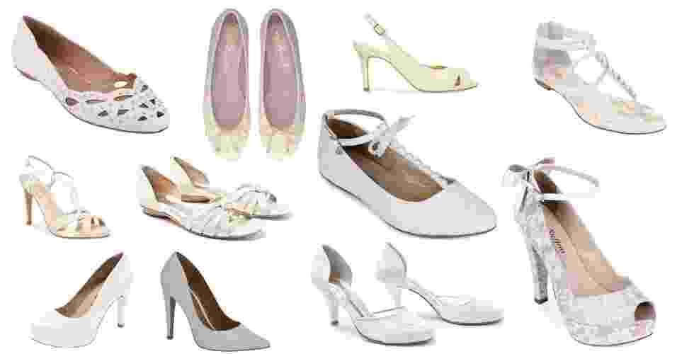 Imagem 956 para álbum de 100 sapatos brancos - Divulgação/Fotomontagem UOL