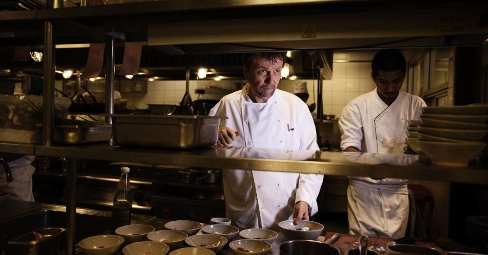 O chef australiano David Thompson comanda o restaurante Nahm, um dos mais badalados de Bancoc