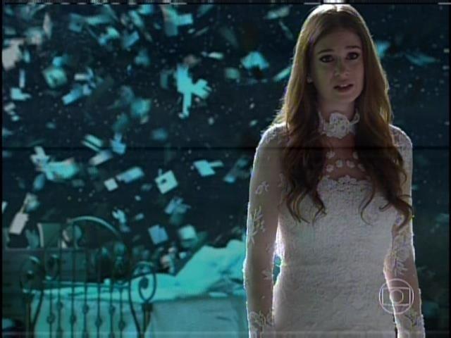 9.ago.2013 -  Após morrer, Nicole se recusa a ir até a luz. Ela chora e diz que precisa voltar ao olhar para Thales