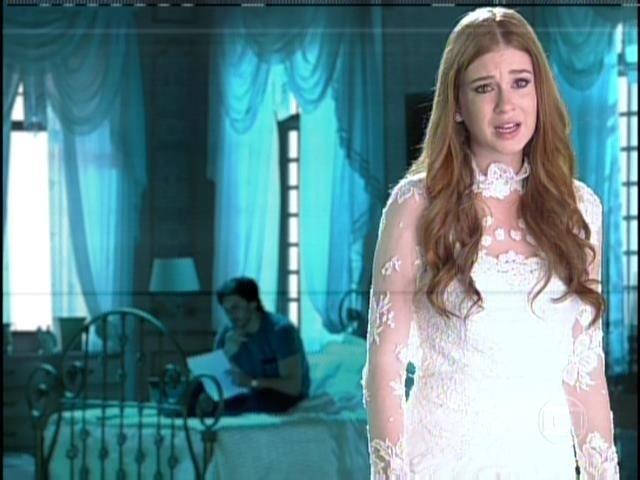 9.ago.2013 -  Nicole se recusa a ir até a luz. Ela chora e diz que precisa voltar ao olhar para Thales