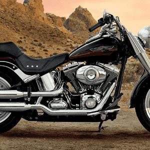 Harley-Davidson Fat Boy - Divulgação
