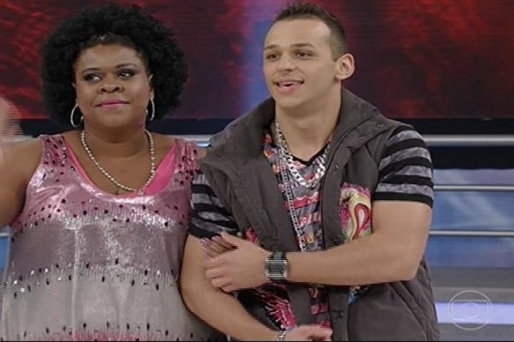 """11.ago.2013 - Cacau Protásio na """"Dança dos Famosos"""""""
