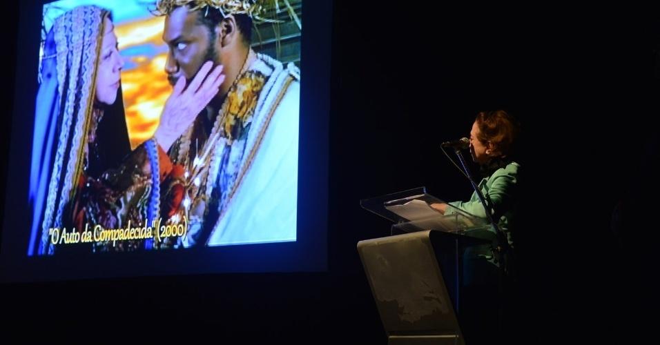 A atriz Fernanda Montenegro, que foi homenageada na 10ª edição especial do prêmio ACIE de Cinema no CCCBB no Centro do Rio