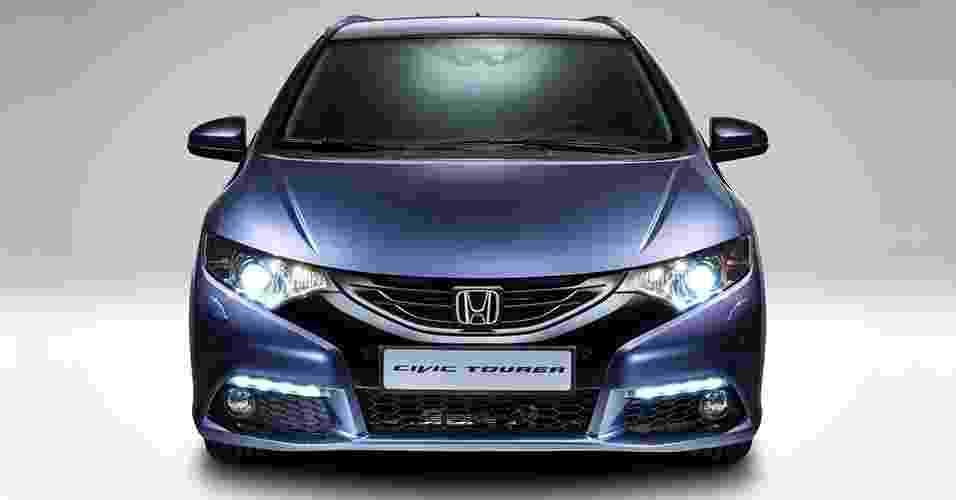 Honda Civic Tourer 2014 - Divulgação