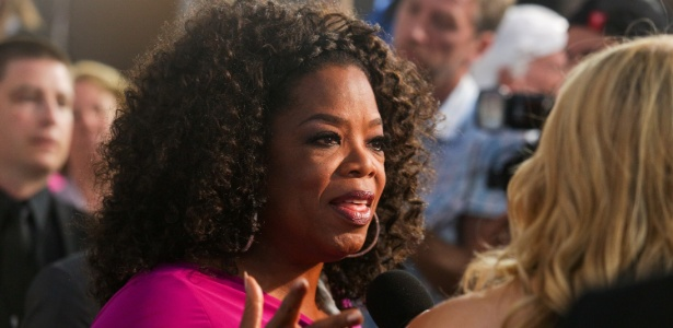 "Oprah Winfrey na premiére de ""Lee Daniels: The Butler"", em Los Angeles"