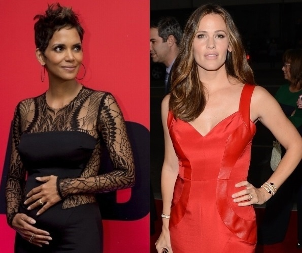 13.ago.2013- Halle Berry e Jennifer Garner apoiam pena mais dura para paparazzi