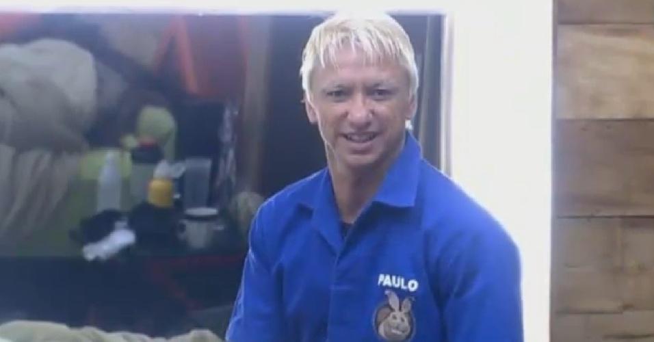 14.ago.2013 - Paulo Nunes se prepara para disputar a prova da chave na manhã desta quarta-feira