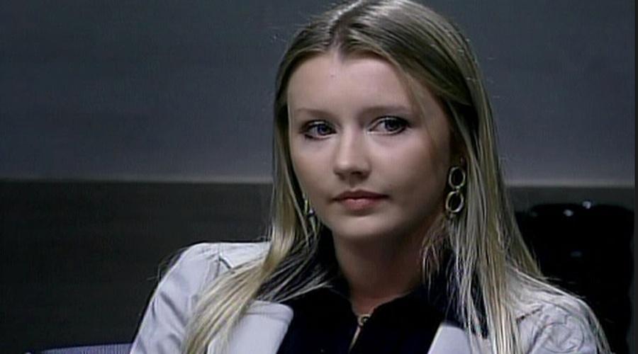 """A catarinense Ana Paula Siebert  participou do reality """"O Aprendiz 6"""", em 2009"""