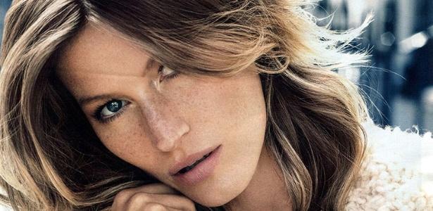 Após ser a estrela da campanha da H&M na temporada de Verão 2011, Gisele Bündchen volta a ser o rosto da rede fast fashion em fotos feitas em Londres para a campanha de Inverno 2013 - Divulgação