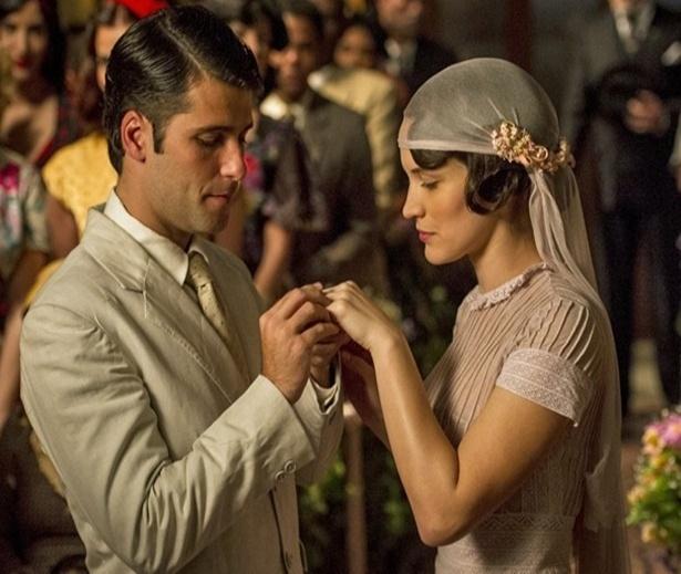 Bianca Bin e Bruno Gagliasso se casam nos primeiros capítulos de Joia Rara