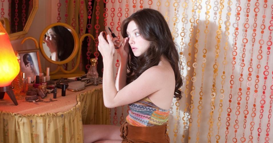 """Cena de """"Lovelace"""", filme sobre a estrela pornô Linda Lovelace, com atuação de Amanda Seyfried"""