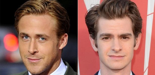 Ryan Gosling e Andrew Garfielfd estão sempre com look alinhado - Getty Images/Montagem/UOL