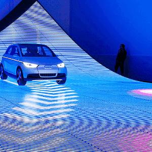 """Audi A2 Concept e projeto Audi Urban Future com """"cidade plástica"""" - Divulgação"""
