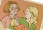 Cada dia mais parecida com a minha mãe - Paola Saliby/UOL