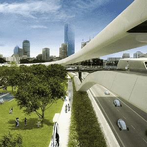 Mais uma aplicação do Projeto Audi Urban Future feita pelo estúdio de arquitetura Höweler+Yoon - Höweler+Yoon Architecture/Divulgação