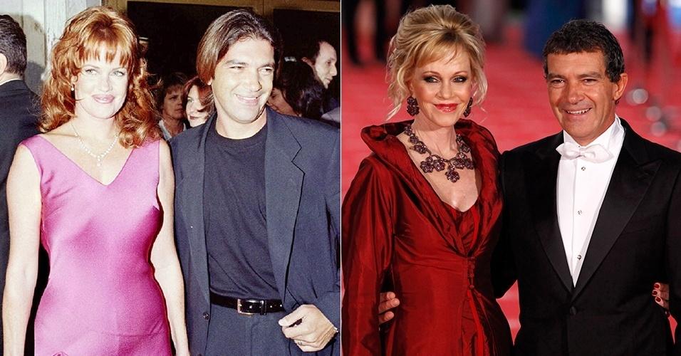 Melanie Griffth e Antonio Banderas
