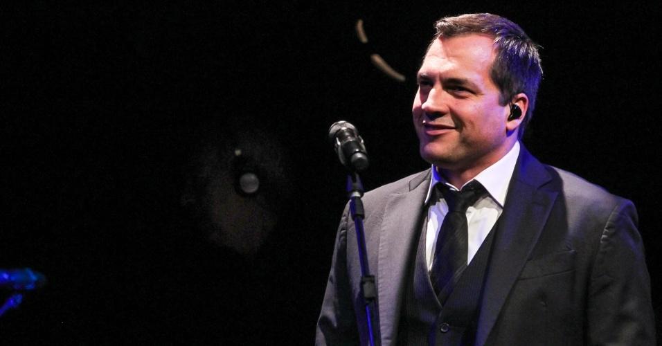 16.ago.2013 - Daniel Boaventura faz show com repertório de seu recém lançado DVD