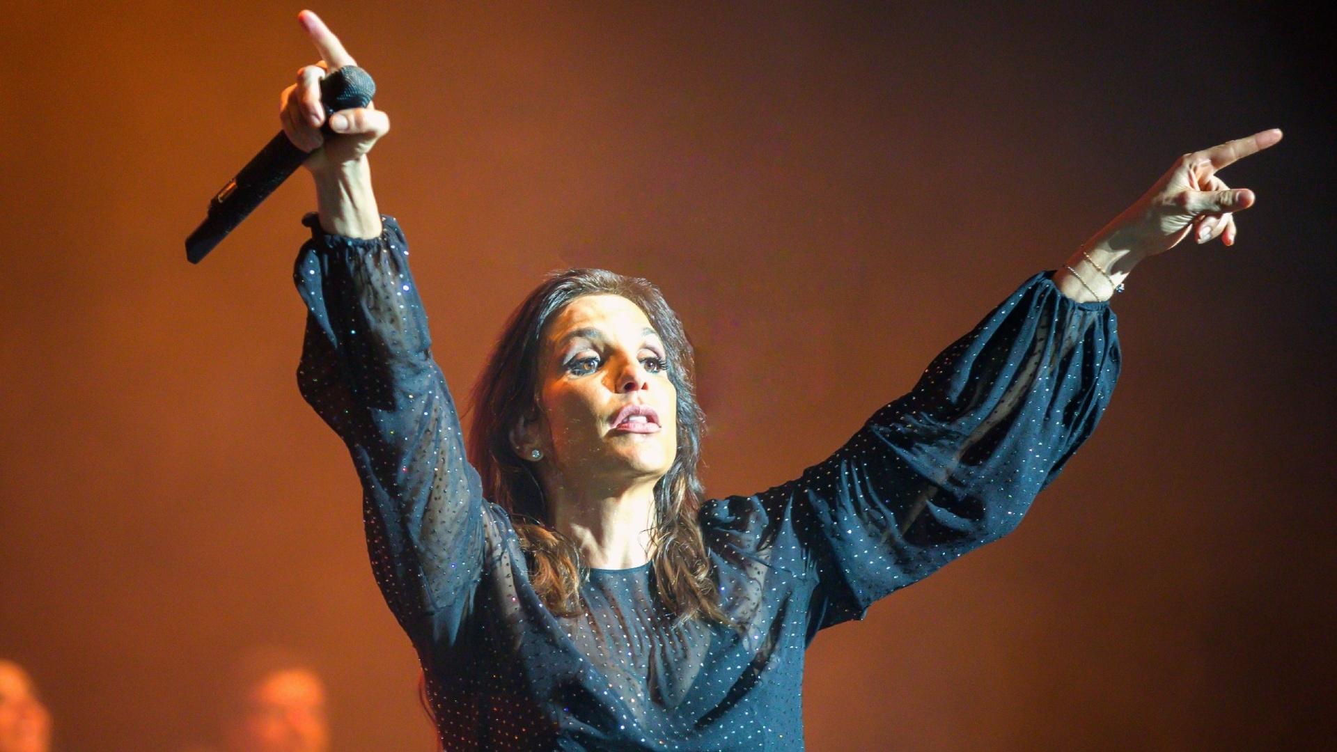 16.ago.2013 - Ivete Sangalo apresenta show Real Fantasia no Lynn Auditorium na cidade de Lynn, nos EUA