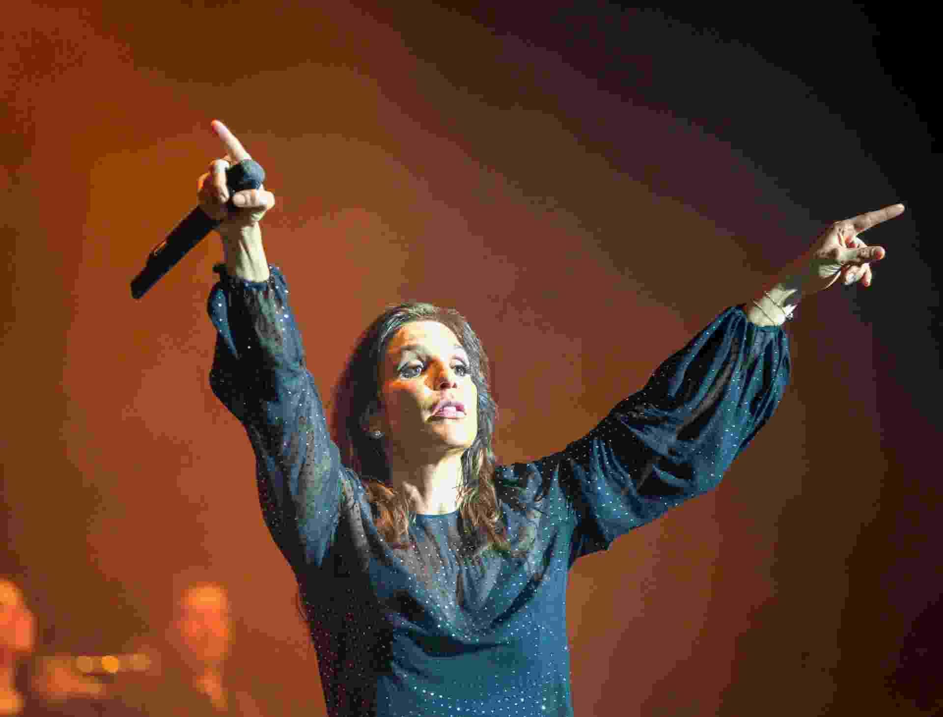 16.ago.2013 - Ivete Sangalo apresenta show Real Fantasia no Lynn Auditorium na cidade de Lynn, nos EUA - Agência Fred Pontes/Divulgação