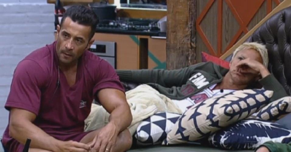 17.ago.2013 - Paulo Nunes diz que Yudi se arrependeu em indicar Mulher Filé para a roça