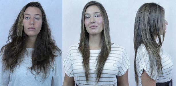 A produtora executiva Nathalia Gladek, 30 anos, de Barueri (SP), que fez a primeira exoplastia em junho - Acervo pessoal